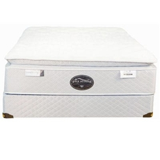Queen Spring Air Back Supporter Four Seasons Athena Firm Pillowtop 15 Inch Mattress