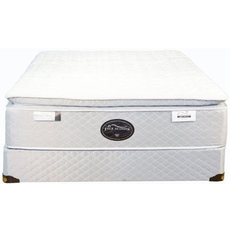 Queen Spring Air Back Supporter Four Seasons Athena Plush Pillowtop Mattress