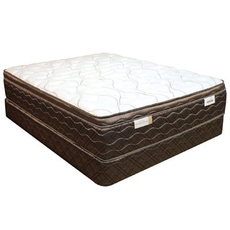 Queen Spring Air Back Supporter Saint Helena Plush Euro Top Mattress