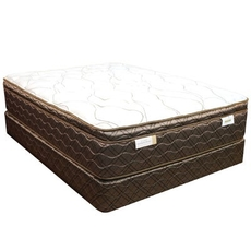 King Spring Air Back Supporter Saint Vincent Plush Euro Top 15 Inch Mattress