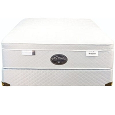 Queen Spring Air Back Supporter Four Seasons Bliss Firm Eurotop 15 Inch Mattress