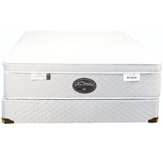 Twin Spring Air Back Supporter Four Seasons Bliss Plush Eurotop 15 Inch Mattress