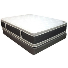 King Spring Air Four Seasons Back Supporter Summer Nights Double Sided Plush Euro Top Mattress