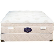 Full Spring Air Back Supporter Perfect Balance Isabella Euro Top 15.5 Inch Mattress