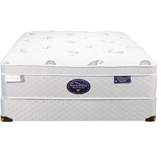Full Spring Air Back Supporter Platinum Jade Euro Top Mattress