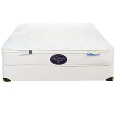 Full Spring Air Back Supporter Value Landry Euro Top 9.5 Inch Mattress
