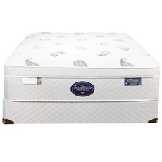 Full Spring Air Back Supporter Platinum Opal Euro Top 16 Inch Mattress