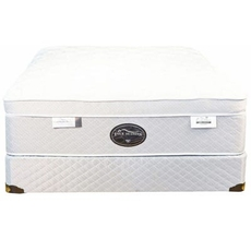 Queen Spring Air Back Supporter Four Seasons Paradise Firm Eurotop 17 Inch Mattress