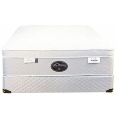 Cal King Spring Air Back Supporter Four Seasons Paradise Plush Eurotop 18 Inch Mattress