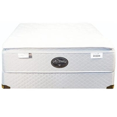 Queen Spring Air Back Supporter Four Seasons Premiere Firm Pillowtop 15 Inch Mattress