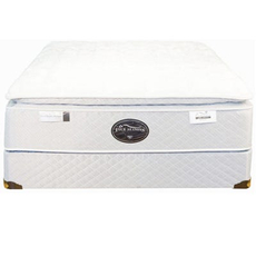 Queen Spring Air Back Supporter Four Seasons Premiere Plush Pillowtop Mattress