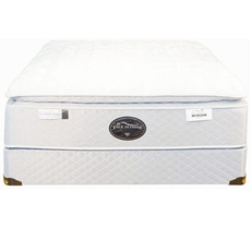 Queen Spring Air Back Supporter Four Seasons Premiere Plush Pillowtop 15.5 Inch Mattress