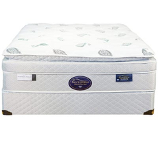 Cal King Spring Air Back Supporter Platinum Sapphire Deluxe Euro Top Mattress