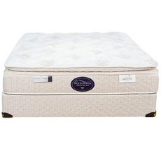 Full Spring Air Back Supporter Perfect Balance Savannah Pillow Top Mattress