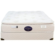 Full Spring Air Back Supporter Perfect Balance Savannah Pillow Top 12.5 Inch Mattress