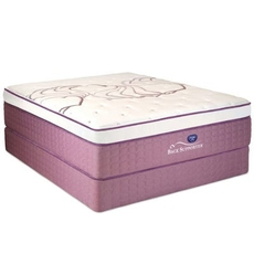 Full Spring Air Sleep Sense Hybrid Plus Level V Luxury Plush Euro Top 15 Inch Mattress