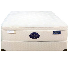 Full Spring Air Back Supporter Latex Sunset Euro Top Mattress