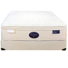 Full Spring Air Back Supporter Latex Sunset Euro Top 16.5 Inch Mattress