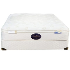 Full Spring Air Back Supporter Value Wilshire Euro Top 12 Inch Mattress