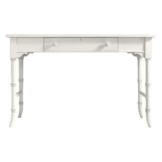 Clearance Stanley Coastal Living Retreat Table Desk in Saltbox White OVFCR121742