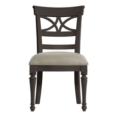 Clearance Stanley Coastal Living Retreat Sea Watch Side Chair in Gloucester Grey