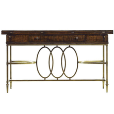 Stanley Avalon Heights Neo Deco Flip Top Console in Chelsea