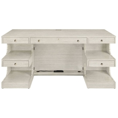Stanley Coastal Living Oasis Cape Dutch Writing Desk in Oyster Finish