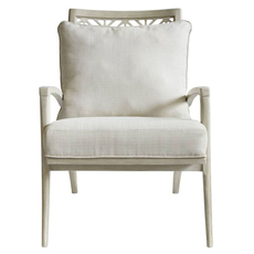 Stanley Coastal Living Oasis Catalina Accent Chair in Oyster Finish