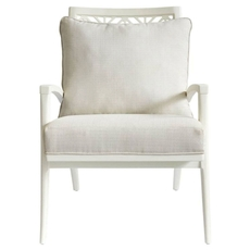 Stanley Coastal Living Oasis Catalina Accent Chair in Saltbox White Finish