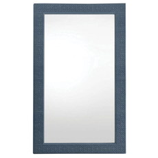 Stanley Coastal Living Oasis Catalina Floor Mirror in Cotswold Blue Finish