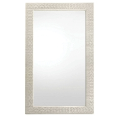 Stanley Coastal Living Oasis Catalina Floor Mirror in Oyster Finish
