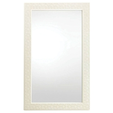 Stanley Coastal Living Oasis Catalina Floor Mirror in Saltbox White Finish