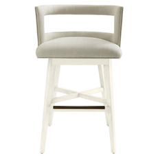 Stanley Coastal Living Oasis Crestwood Bar Stool in Saltbox White Finish