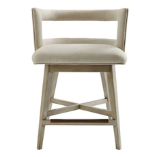 Stanley Coastal Living Oasis Crestwood Counter Stool in Oyster Finish