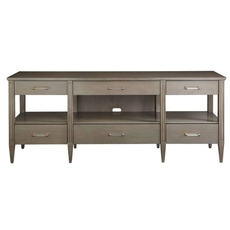 Stanley Coastal Living Oasis Mulholland Media Console in Grey Birch Finish