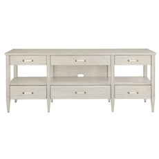 Stanley Coastal Living Oasis Mulholland Media Console in Oyster Finish