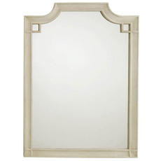 Stanley Coastal Living Oasis Silver Lake Vertical Mirror in Oyster Finish