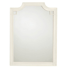 Stanley Coastal Living Oasis Silver Lake Vertical Mirror in Saltbox White Finish