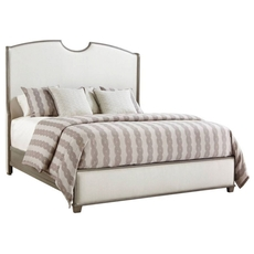Stanley Coastal Living Oasis Solstice Canyon Queen Shelter Bed in Grey Birch Finish