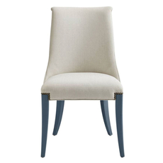 Stanley Coastal Living Oasis Wilshire Host Chair in Cotswold Blue Finish