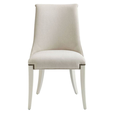 Stanley Coastal Living Oasis Wilshire Host Chair in Saltbox White Finish