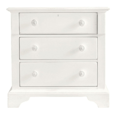Stanley Coastal Living Retreat Night Table in Saltbox White