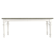 Stanley Coastal Living Retreat Rectangular Leg Table in Saltbox White