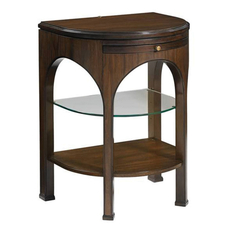 Stanley Crestaire Alexander Telephone Table in Porter