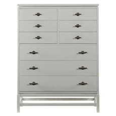 Stanley Coastal Living Resort Tranquility Isle Drawer Chest in Morning Fog