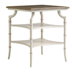 Stanley Preserve Saybrook Lamp Table in Orchid
