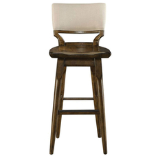 Stanley Santa Clara Barstool in Burnished Walnut Finish