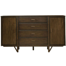 Stanley Santa Clara Buffet in Burnished Walnut Finish