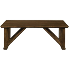 Stanley Santa Clara Cocktail Table in Burnished Walnut Finish