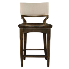 Stanley Santa Clara Counter Stool in Burnished Walnut Finish